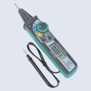タスコ ペン型デジタルマルチメータ オートパワーオフ機能付 携帯用ケース付 TA452CT