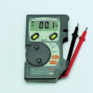 タスコ デジタルマルチメータ コードリール機構 3200カウント高精度テスタ オートパワーオフ機能付 TA452DH