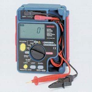 タスコ 3レンジデジタル絶縁抵抗計 ケース一体型 防塵・防滴仕様 オートホールド機能付 TA453C-3