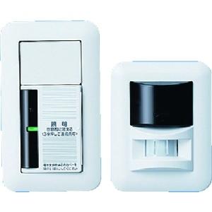 パナソニック ここでもセンサ 熱線センサ発信器・受信器セット 2線式 2A 100V WTC5360W