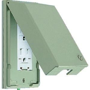 パナソニック ガードプレート 樹脂製 コンセント3コ用 取付枠付 WTF7973