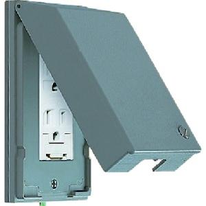 パナソニック ガードプレート 金属製 コンセント1コ用 取付枠付 WTF7871K