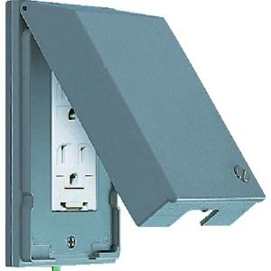 パナソニック ガードプレート 金属製 コンセント2コ用 取付枠付 WTF7872K