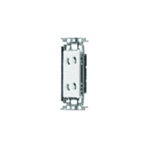 パナソニック 埋込抜け止めダブルコンセント 金属取付枠付 15A 125V ベージュ WTF10623FK