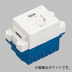 パナソニック 【生産完了品】ISDN用埋込モジュラジャック 8極8心 利休色 WNT1881GK