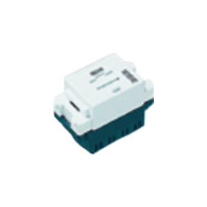 パナソニック ISDN用埋込モジュラジャック 終端用 8極8心 ホワイト WNT1882WK
