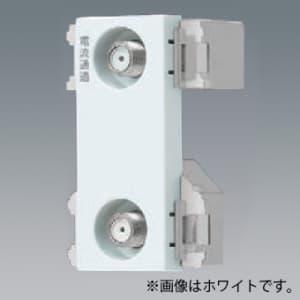 パナソニック 埋込高シールドテレビターミナル 分配配線方式 2端子 電流通過形 10〜2602MHz ベージュ WCS3890F