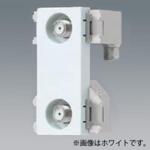 パナソニック 埋込高シールドテレビコンセント 送り配線用 2端子 電流通過形 10〜2602MHz ベージュ WCS4891F