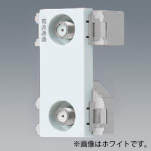 パナソニック 埋込高シールドテレビコンセント 端末用 2端子 電流通過形 10〜2602MHz ベージュ WCS4892F