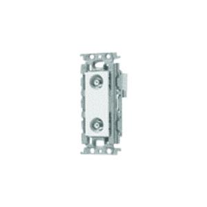 パナソニック 埋込高シールドテレビコンセント 送り配線用 2端子 絶縁取付枠付 電流通過形 10〜2602MHz ベージュ WTF4374F