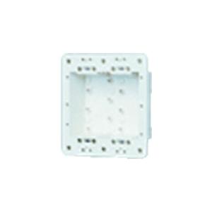 パナソニック 防気・防塵カバー ラウンドプレート用 2連用 WV2482