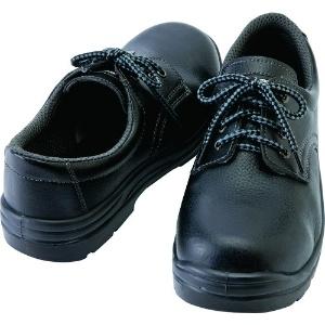 アイトス セーフティシューズ(ウレタン短靴ヒモ) 樹脂先芯 サイズ23.5cm ブラック スリップサイン付 セーフティシューズ(ウレタン短靴ヒモ) 樹脂先芯 サイズ23.5cm ブラック スリップサイン付 AZ59811-010-23.5
