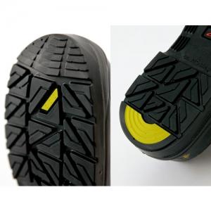 アイトス セーフティシューズ(ウレタン短靴ヒモ) 樹脂先芯 サイズ23.5cm ブラック スリップサイン付 セーフティシューズ(ウレタン短靴ヒモ) 樹脂先芯 サイズ23.5cm ブラック スリップサイン付 AZ59811-010-23.5 画像2