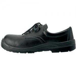 アイトス セーフティシューズ(ウレタン短靴ヒモ) 樹脂先芯 サイズ23.5cm ブラック スリップサイン付 セーフティシューズ(ウレタン短靴ヒモ) 樹脂先芯 サイズ23.5cm ブラック スリップサイン付 AZ59811-010-23.5 画像3