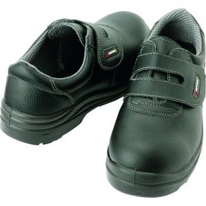 アイトス セーフティシューズ(ウレタン短靴マジック) 鋼製先芯 サイズ30.0cm ブラック スリップサイン付 AZ59802-710-30