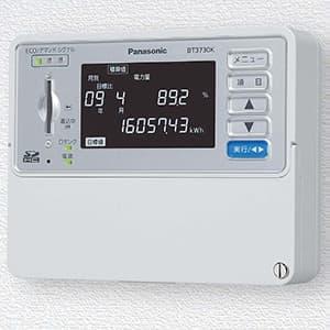 パナソニック 【生産完了品】エネルギーモニタ エネミエールS BT3730K