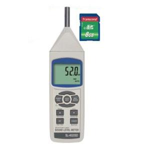 デジタル騒音計 SDスロット搭載 データロガ機能付 測定範囲30〜130dB SL-4023SD