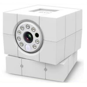 マザーツール 【生産完了品】Wi-FiネットワークIPカメラ 《あんしんカム》 iCamHD360 専用アプリ使用 ACC1308A1WH