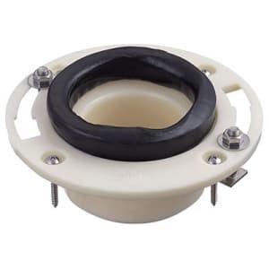 床フランジ 大便器用 トイレ用 75VP・VUおよび100VP・SU・VUパイプ兼用 ステンレスボルト(R46)付 H800-8