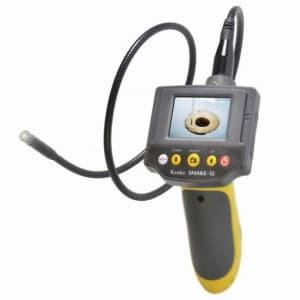 ケンコートキナー 【生産完了品】LEDライト付防水スネイクカメラ フレキシブルチューブ約900mm 静止画・動画保存可能 SNAKE-12
