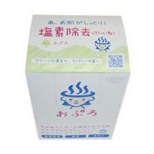 【ケース販売特価 300包(10包×30箱)セット】おぷろ 残留塩素除去 入浴料 もり グリーン BS-G10_set