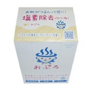 【ケース販売特価 300包(10包×30箱)セット】おぷろ 残留塩素除去 入浴料 みつ ハチミツ BS-Y10_set