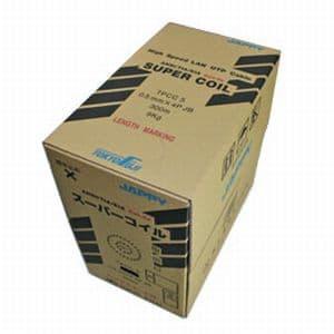 因幡電機 《ジャッピー》TPCC LANケーブル 屋内用 Cat.6 300m TPCC6 0.5mm×4PウスアオJP×300m