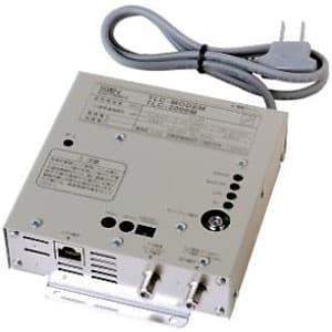 サン電子 【生産完了品】TLCモデム 同軸LANモデム TV信号混合機能付 壁面取付型 TLC-2000M