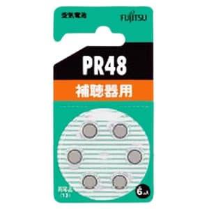 補聴器用空気電池 1.4V 6個パック PR48(6B)