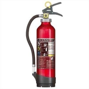 アルミ製蓄圧式粉末ABC消火器 《アルテシモ》 業務用 6型 総質量約2.9kg リサイクルシール付 MEA6リサイクルシールツキ