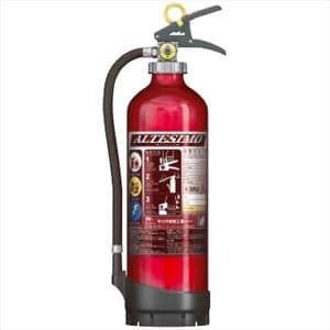 アルミ製蓄圧式粉末ABC消火器 《アルテシモ》 業務用 10型 総質量約4.6kg リサイクルシール付 MEA10Dリサイクルシールツキ