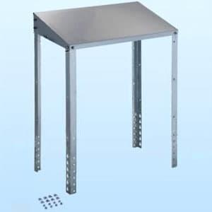 日晴金属 クーラーキャッチャー 防雪屋根 塩害地向け 天板:ZAM®鋼板 溶融亜鉛メッキ仕上げ 《goシリーズ》 C-RZJ