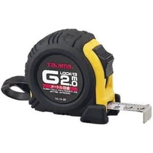 タジマ コンベックス Gロック-13 スチールテープ 長さ2m メートル目盛 ロックタイプ GL13-20D