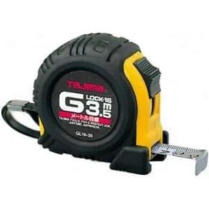 タジマ コンベックス Gロック-16 スチールテープ 長さ3.5m メートル目盛 ロックタイプ GL16-35D