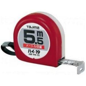 タジマ コンベックス ハイ-19 スチールテープ 長さ5.5m メートル目盛 両面目盛 H19-55BL
