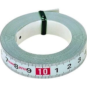 タジマ コンベックス ピットメジャー 粘着テープ付スチールテープ 長さ1m メートル目盛 PIT-10BL