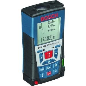 BOSCH レーザー距離計 240g 250m計測 13種類の測定モード 光学ファインダー内蔵 防塵・防水性能 バックライト付大型液晶 GLM250VF