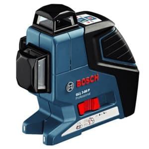BOSCH 【生産完了品】レーザー墨出し器 水平4ライン・垂直4ライン・鉛直・地墨 キャリングケース付 GLL3-80P