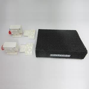 冷蔵庫ヤモリセット 両開き用 メカ式センサー感知 電源不要 RY-SET002