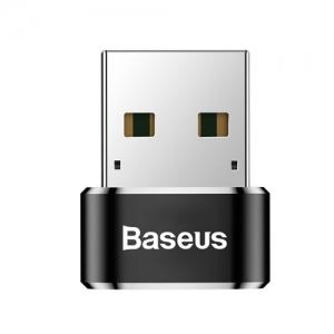電材堂 USB変換ハブアダプター Type-C〜USB2.0 長さ1m ブラック DCAAOTG01