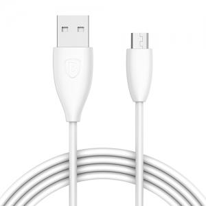 電材堂 【生産完了品】USBケーブル USB〜MicroUSB 長さ1m ホワイト DCAMMY02