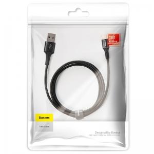 電材堂 USBケーブル 急速充電タイプ USB〜Type-C 長さ1m ブラック DCATGHB01