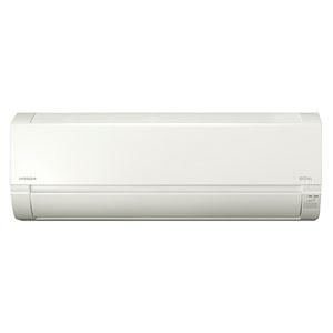 日立 【生産完了品】ルームエアコン 《白くまくん》 冷暖房時おもに18畳用 2020年モデル AJシリーズ 単相200V RAS-AJ56K2(W)