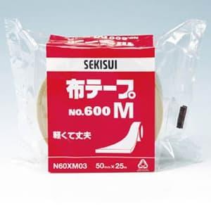 積水化学工業 布テープ No.600M 幅50mm×長さ25m ダンボール色 布テープ No.600M 幅50mm×長さ25m ダンボール色 N60XM03 画像2
