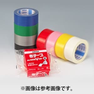 布テープ No.600Vカラー 幅50mm×長さ25m ブラック N60KV03