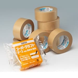 積水化学工業 スーパークラフトテープ No.504NS 幅50mm×長さ50m ダンボール色 K504X03