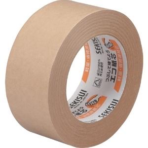 積水化学工業 クラフトテープ No.500 幅50mm×長さ50m ダンボール色 K51X13