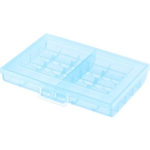 サンワサプライ 電池ケース 単3形・単4形対応 大容量タイプ ブルー DG-BT5BL