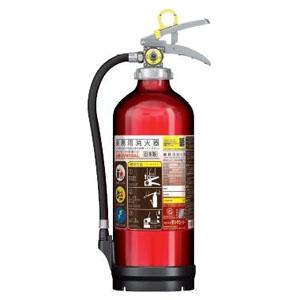 アルミ製蓄圧式粉末ABC消火器 業務用 10型 総質量約3.9kg リサイクルシール付 UVM10ALリサイクルシールツキ