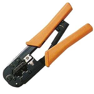 サンワサプライ かしめ工具 ラチェット付 HT-568R